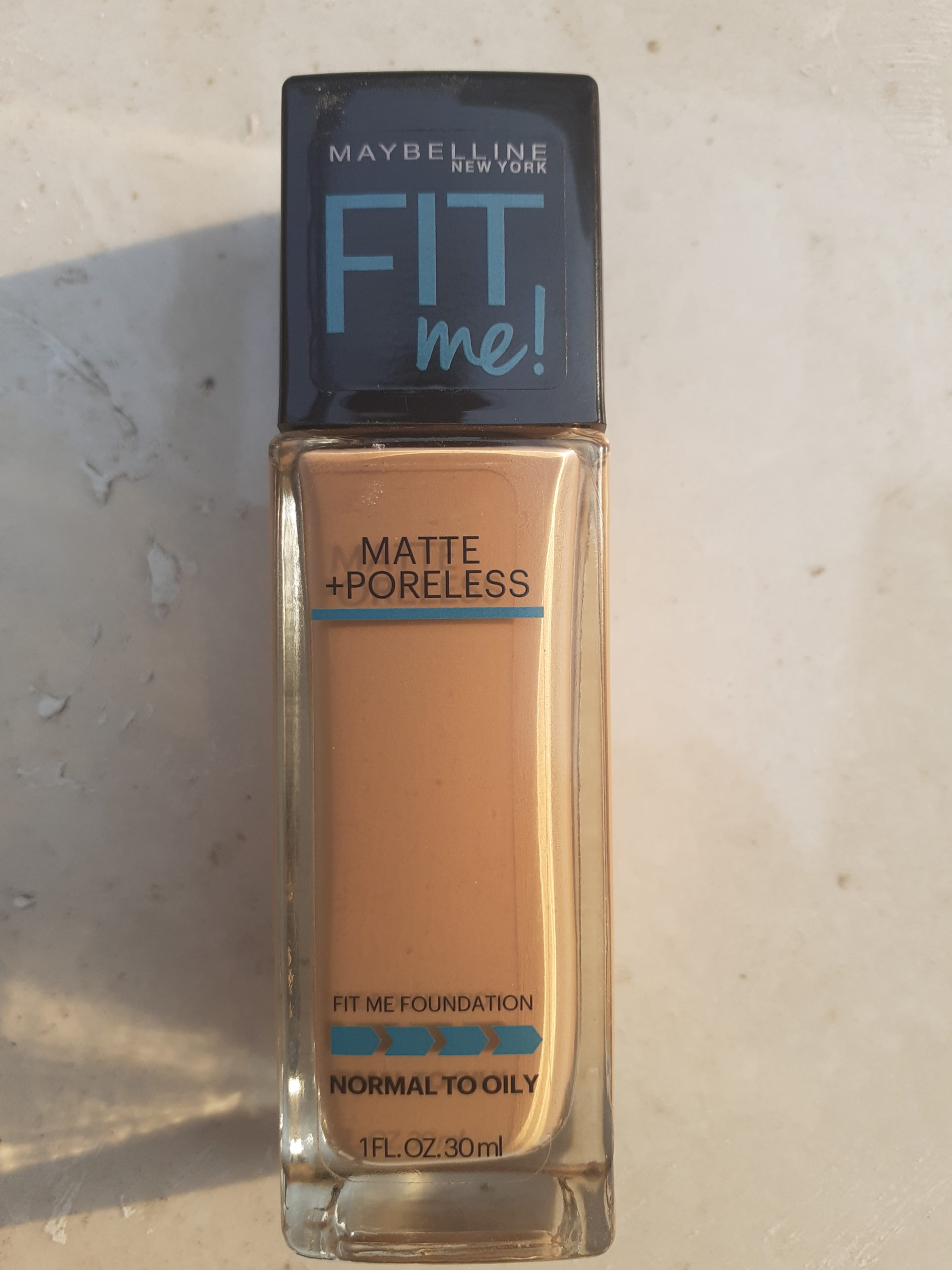 Maybelline Fit Me Matte+ Poreless Foundation Review