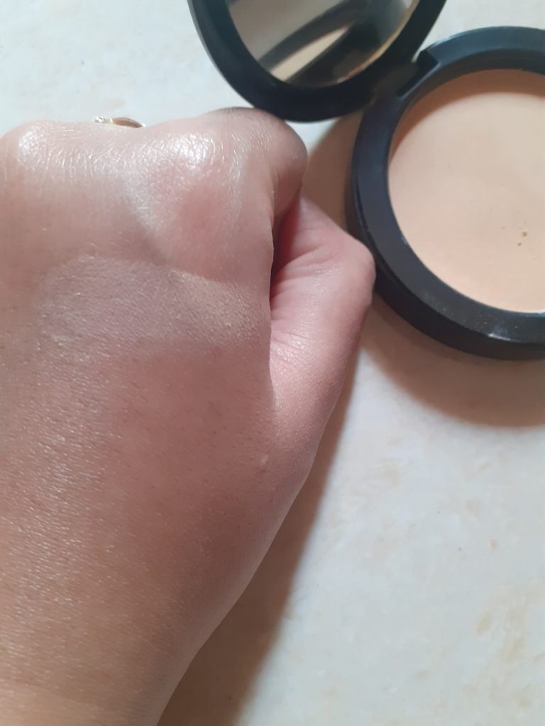 Fit me powder Application