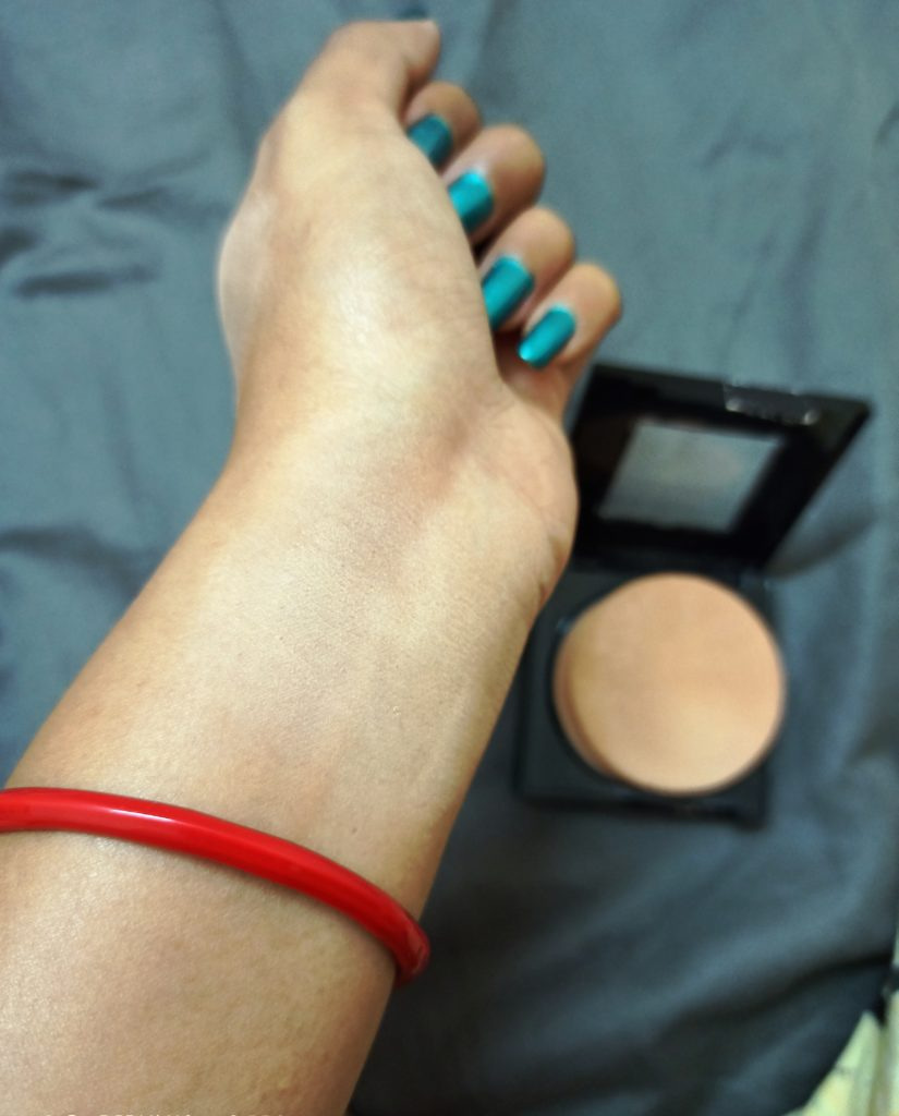 Maybelline Pressed Powder after use