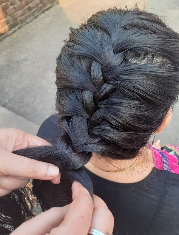 French Braid Hairstyle 10