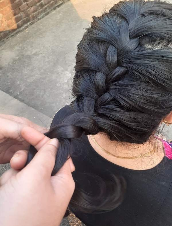 French Braid Hairstyle 11
